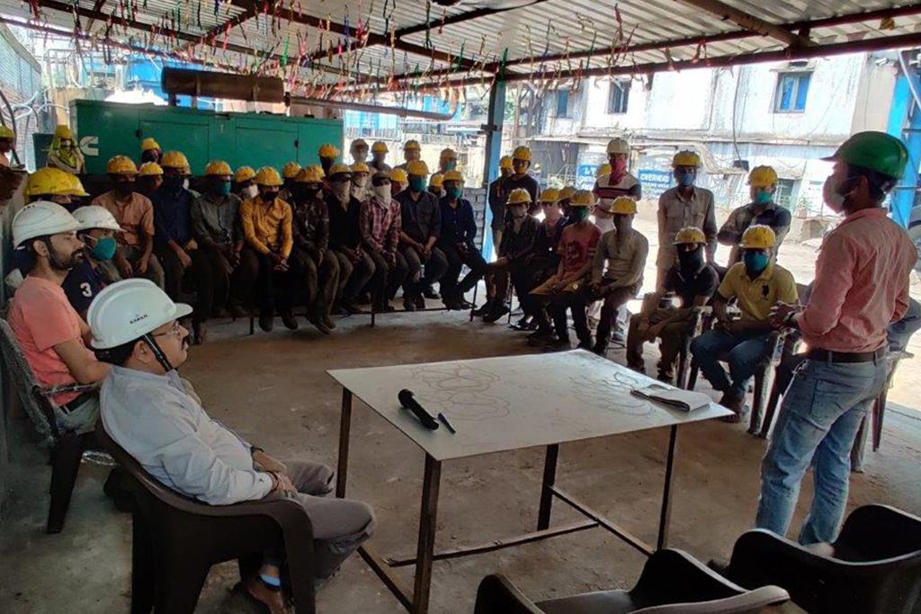 educating for safety of sree metaliks workforce
