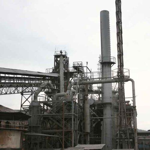 pig iron manufacturing plant